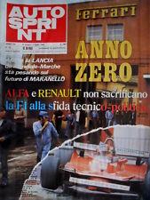 Autosprint 26 1980 Alfa e Renault. Fotoclub incidenti al Mugello. Euro F3 SC.53
