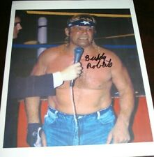 WRESTLING ORIGINAL AUTOGRAPH PHOTO SIGNED BY FREEBIRD BUDDY ROBERTS