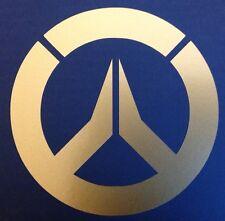 Overwatch Vinyl Sticker GOLD GLOSS 8 x 8cm
