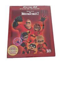 Blu ray + 3d disney 121 les indestructibles 2 neuf sous blister avec fourreau vf