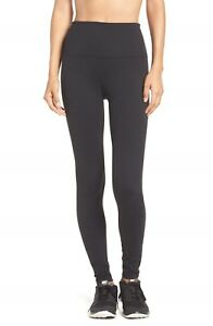 NEW Zella Live In High Waisted Leggings in Black - Size L #NA590