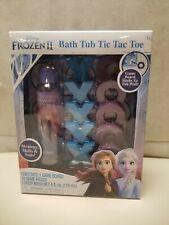 Disney Frozen 2 Bath Tub Tic Tac Toe Game Elsa Anna Body Wash For Kids Set