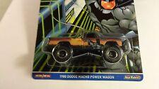 2017 Hot Wheels DC Comics 1980 Dodge Macho Power Wagon Metal/Metal Real Riders