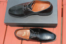 ALLEN EDMONDS FLATIRON BLACK CUSTOM CALF LACE UP #8.5us $385