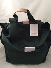 Paul Smith Women Bag Tote Slim Green Made In Thailand RRP£220