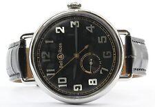 Bell & Ross WW1-97 Reserve De Marche BRWW197-BL-ST/SCR Wrist Watch for Men