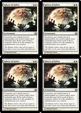 4x SPHERE OF SAFETY Return to Ravnica MTG White Enchantment Unc
