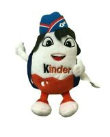 Kinder Surprise Egg Stewardess Backpack Promotional Soft Plush Toy Collectable