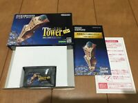 Gameboy Advance The TOWER SP with Box,Manual Japan