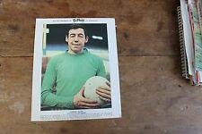 RARE COLLECTABLE 8 X 10 GORDON BANKS, TYPHOO TEA CARD 1960s