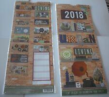 2018 Family Organiser Calendar, 5 Columns for Organising your Famiy.Urban Design