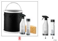 Genuine BMW Convertible Care Kit Water-Proof+Cleaner+Sponge+Bucket 83122298224