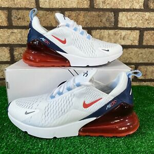 🇺🇸Nike Air Max 270 (DJ5172-100) 'USA' Red/Navy/White/Blue Sneakers 🇺🇸