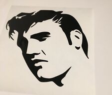 Elvis ,car decal/ sticker for windows, bumpers , panels or laptop