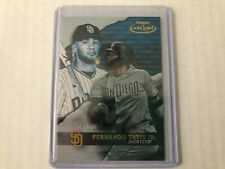 Fernando Tatis, Jr. (Padres) - 2020 Topps Gold Label #82 Class 2 Blue 92/99