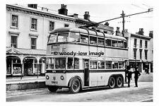 pt7789 - Bournemouth Trolleybus no 80 - photograph 6x4