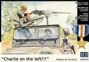 Masterbox Charlie On The Left Vietnam War From 5 Figurines 1:3 5 New Kit