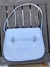 Vintage Gucci Jackie 1950s Handbag | White Top Handle, Leather, Lining