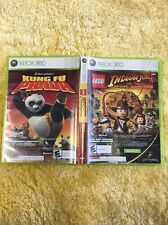 Indiana Jones The Original Adventures And Kung Fu Panda 2 Disc For Xbox 360