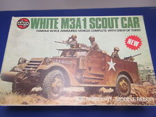 AIRFIX 1:35 07360-0 Series 7 WHITE M3A1 SCOUT CAR  Modellbausatz Model Kit OVP