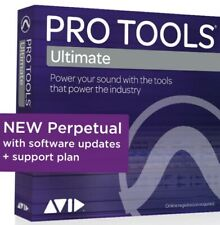 NEW Pro Tools ULTIMATE PROTOOLS PERPETUAL HD Software License With 1 YR SUPPORT!
