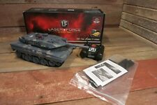LASER FORCE LF RC ASSAULT GRAY TANK Remote Control Instructions & Extra Treads!