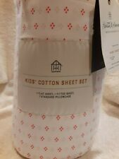 Hearth and Hand with Magnolia Kid's Cotton Sheet Set Twin