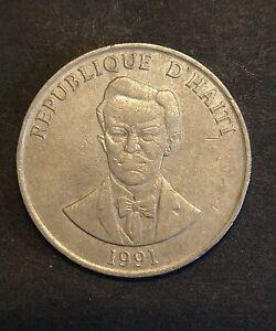 COIN HAITI 50 Centimes 1991 rjkstamps
