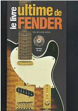 LE LIVRE ULTIME DE FENDER - DVD - DAY & HUNTER  - ART & IMAGES -  COMME NEUF