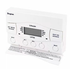 Drayton Lifestyle LP722 7 Day Electronic Programmer Central Heating British Gas