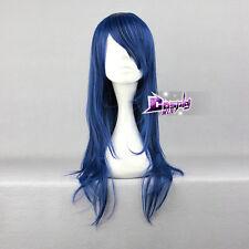 Wild Style dunkelblau Glatt Anti-Alice Langhaare Lolitta&Cosplay Perücke Wig