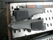 VW CORRADO PAIR REAR SPEAKER PODS / PARCEL SHELF SUPPORTS IN GREY VR6 16V 8V G60