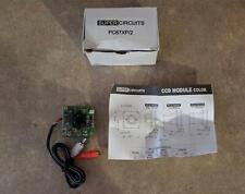 Supercircuits CCD Color Mini Pinhole Camera PC67XP-2 FAST FREE SHIP!! J1-5