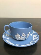 Wedgwood Blue Tea Cup and Saucer