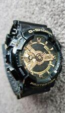 Casio G-SHOCK GA-110GB 5146 Black Gold Tone Dial Ana-Digi Watch