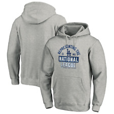 Los Angeles Dodgers  2020 National League Champions Locker Room Pullover Hoodie