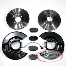 Bmw 3er E30 - Bremsscheiben Bremsbeläge Warnkabel 2 Spritzbleche für vorne*