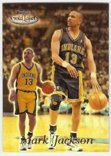 MARK JACKSON 1999-00 TOPPS GOLD LABEL BLACK VERSION 15 CLASS 1 INDIANA PACERS