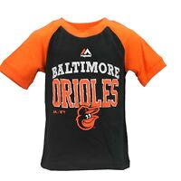 Baltimore Orioles Official MLB Majestic Infant Toddler Size T-Shirt New Tags