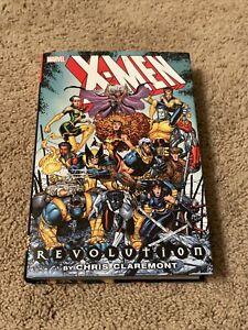 x-men revolution omnibus Marvel Comics By Chris Claremont OOP RARE HTF