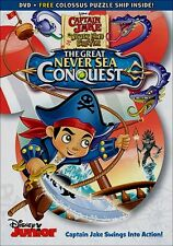 Disney Captain Jake and the Neverland Pirates The Great Never Sea Conquest DVD