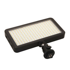 228 LED Video Light Lamp Panel Dimmable 20W 2000LM for Canon DSLR Camera DV