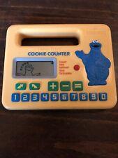 Vintage 1985 Fisher Price Cookie Counter Cookie Monster Sesame Street WORKS
