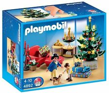 PLAYMOBIL 4892 Christmas Room New sealed in box Rare