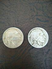 New Listing1915 & 1930 Buffalo nickel lot of 2