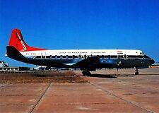 South African Airways , Vickers Viscount 813, Ansichtskarte