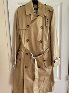 New Ralph Lauren Jacket Mack Coat Size 2 with a Belt
