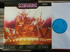 SCORPIONS DDR AMIGA LP: LOVE AT FIRST STING (856332)