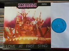 SCORPIONS DDR AMIGA LP: LOVE AT FIRST STING (856332)