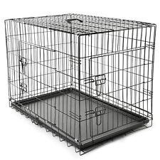 Hundetransportbox Größe L Hundebox Hundekäfig Transportbox Gitterbox Drahtkäfig
